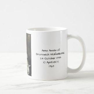 Caneca De Café Anna Amalia de Brunsvique-Wolfenbuttel 1769
