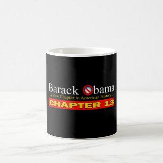 Caneca De Café Anti-Obama - falência nova do capítulo…