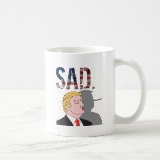 Caneca De Café Anti presidente sarcástico engraçado Donald Trump