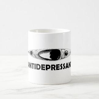 Caneca De Café Antidepressivo do caiaque