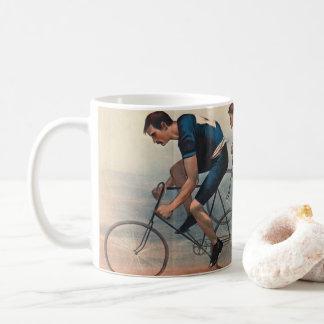 Caneca De Café Anúncio 1896 de Lithos da bicicleta