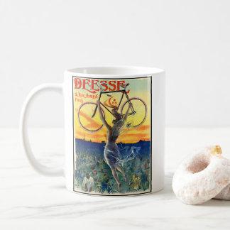 Caneca De Café Anúncio retro 1898 da bicicleta