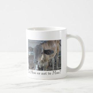 Caneca De Café Ao MOO ou não ao MOO?