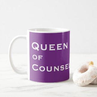 Caneca De Café Apelido fêmea engraçado do conselheiro - título da