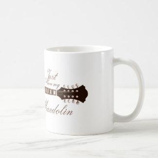 Caneca De Café Apenas ame meu bandolim