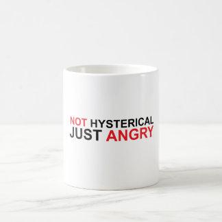 Caneca De Café Apenas irritado nao histérico