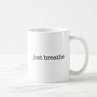 Caneca De Café Apenas respire