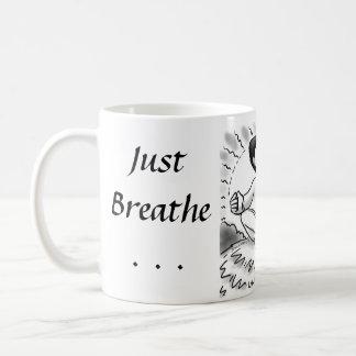 Caneca De Café Apenas respire…
