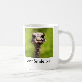 Caneca De Café Apenas sorriso:-)