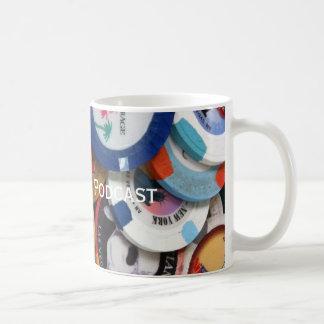 Caneca De Café Aposta acima do copo de café