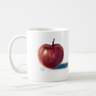 Caneca De Café Apple em um copo