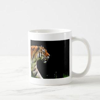 Caneca De Café Aproximação do tigre - trabalhos de arte do animal