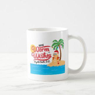 Caneca De Café Aqueça desejos de Myrtle Beach