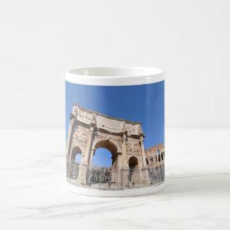 Caneca De Café Arco em Roma, Italia