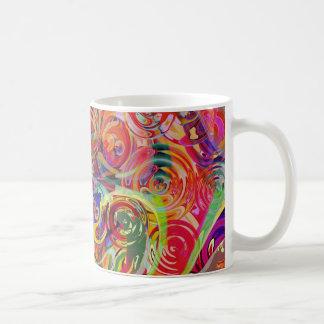 Caneca De Café Arco-íris das cores