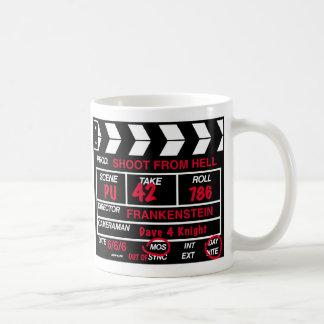 Caneca De Café Ardósia da câmera de filme