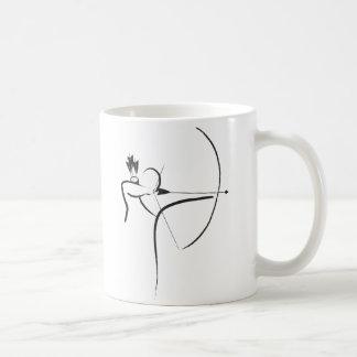 Caneca De Café Arqueiro masculino do Longbow