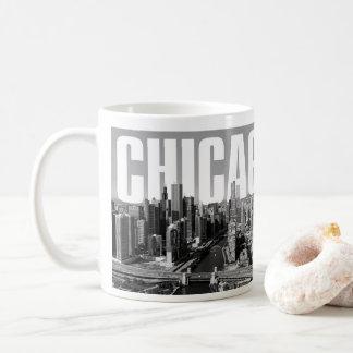 Caneca De Café Arquitectura da cidade de Chicago