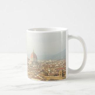 Caneca De Café Arquitectura da cidade de Florença ou de Firenze