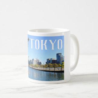 Caneca De Café Arranha-céus em Tokyo, Japão