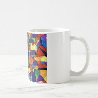 Caneca De Café Arte abstracta a ser