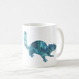 Caneca De Café Arte do esquilo