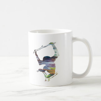 Caneca De Café Arte do Gibbon