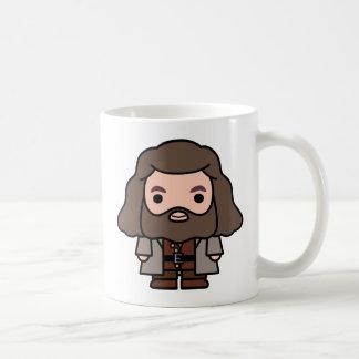 Caneca De Café Arte do personagem de desenho animado de Hagrid