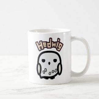 Caneca De Café Arte do personagem de desenho animado de Hedwig