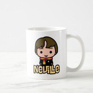 Caneca De Café Arte do personagem de desenho animado de Neville