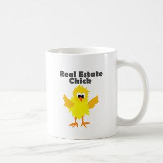 Caneca De Café Arte legal do pintinho dos bens imobiliários