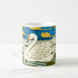 Caneca De Café Arte Nouveau da cisne