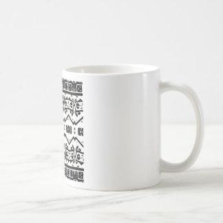 Caneca De Café Arte por máquinas de lixar de Shay