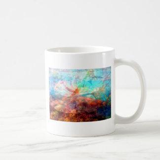 Caneca De Café Arte subaquática de inspiração bonita da cena