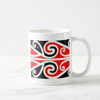 Caneca De Café arte tribal do design maori para você