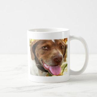 Caneca De Café Arthur o cão de caça