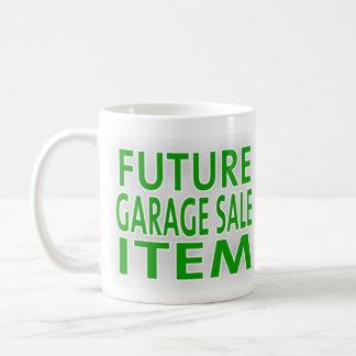 Caneca De Café Artigo futuro da venda de garagem