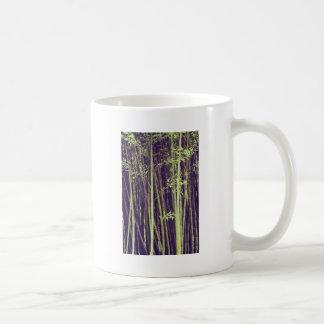 Caneca De Café Árvores de bambu