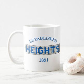 Caneca De Café As alturas de Houston estabeleceram o clássico