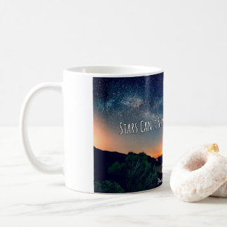 Caneca De Café As estrelas não podem brilhar sem escuridão
