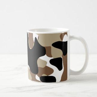 Caneca De Café As forças armadas camuflam o teste padrão