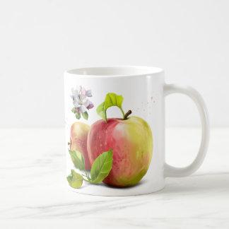 Caneca De Café As maçãs, florescem e espirram