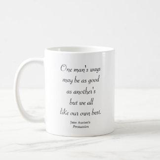 Caneca De Café As maneiras de um homem