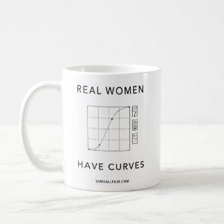 Caneca De Café As mulheres reais têm curvas