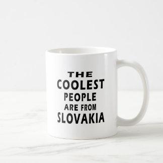 Caneca De Café As pessoas as mais frescas são de Slovakia