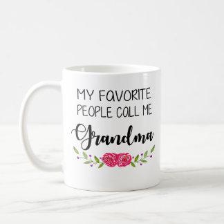 Caneca De Café As pessoas favoritas chamam-me avó