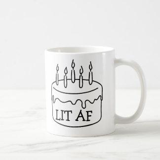 Caneca De Café As velas engraçadas do bolo de aniversário