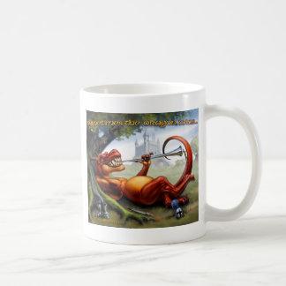 Caneca De Café Às vezes as vitórias do dragão