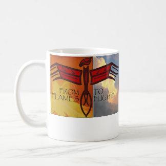 Caneca De Café Ascensão de Phoenix