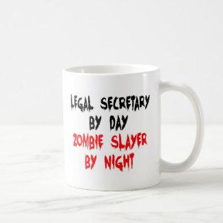 Caneca De Café Assassino do secretário legal zombi